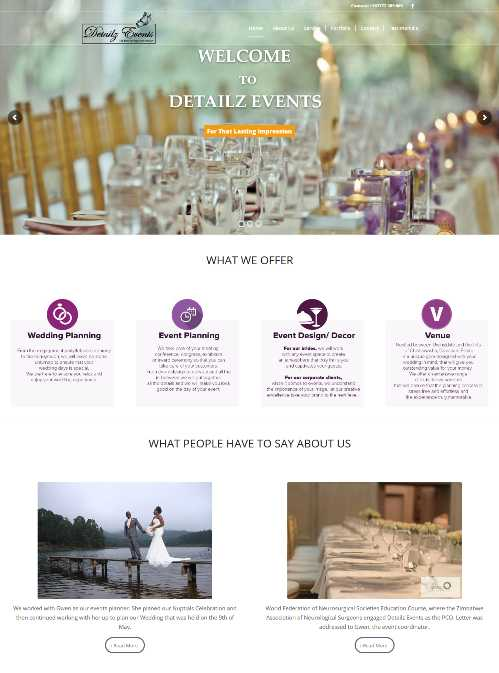 Detailz Events